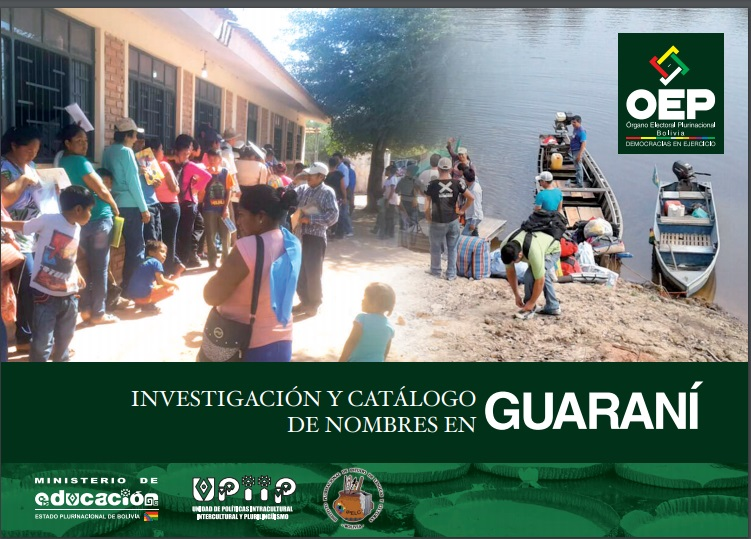 Investigación y catalógo de nombres en Guaraní