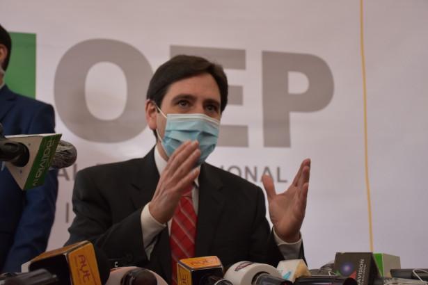 Se inaugura la jornada electoral en los nueve departamentos de Bolivia